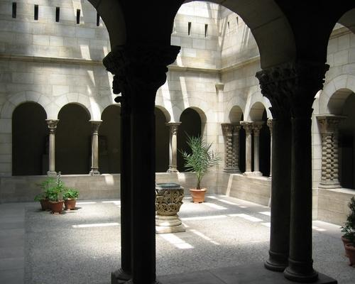 At the Cloisters in New York