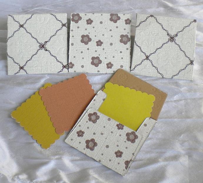 ROMANCE  envelope n notecard - 10 sets