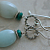 AMAZONITE & TURQUOISE Sterling Silver Earrings