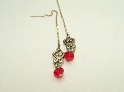 Vampire Lust Steampunk Inspired Earrings