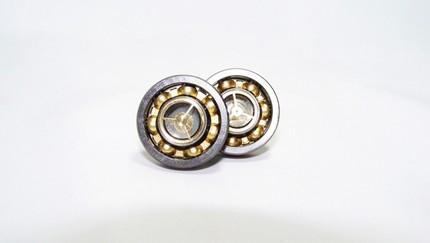 EXTREME STEAMPUNK ROTATING CUFFLINKS In SOLID STAINLESS STEEL by TheS