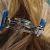 German Shephard Ponytail Barrette (Y945)