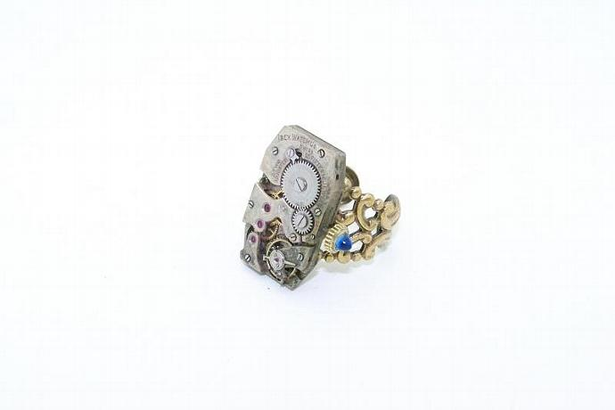 Ibex Steampunk Ring