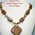 Scenic Jasper & Wood Agate Gemstone Necklace