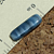 Blue-Gray Czech Rectangle Beads 8-1015