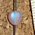 Pink Heart Czech Beads