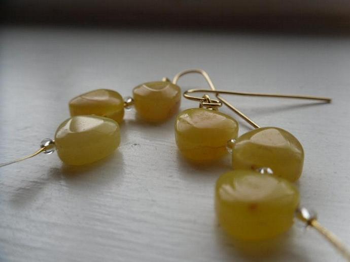 Stacking Gems-Yellow Gemstones
