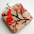 Japanese Red Cherry Blossoms Pendant