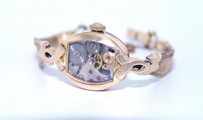 AMAZING WORKING Vintage Watch Steampunk Bracelet OOAK BY TheSteamPunk
