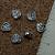 Pewter Celtic Heart Beads (9-2194)
