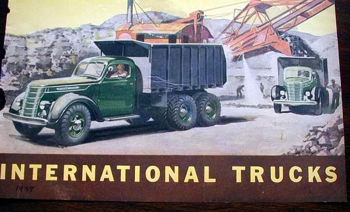 1938 Life Magazine Ad-International Harvester Trucks