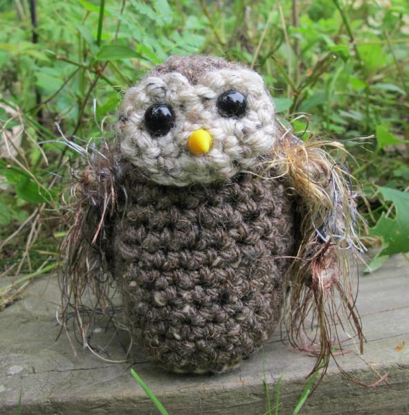 Errol the Amigurumi Owl