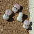 Glass Bunny Beads (8-74)
