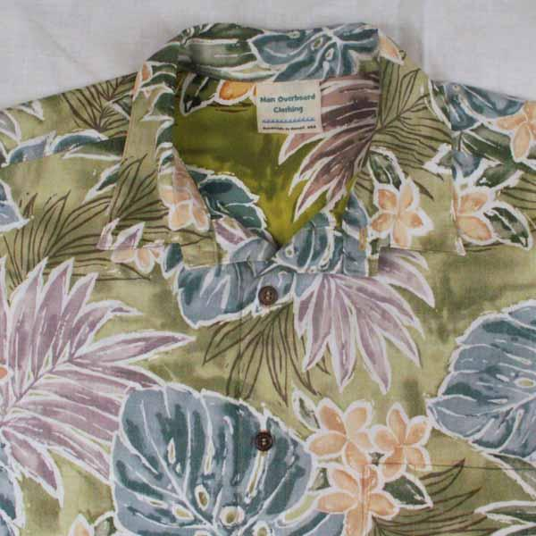 Hawaiian Floral Aloha Shirt - Sizes S, M