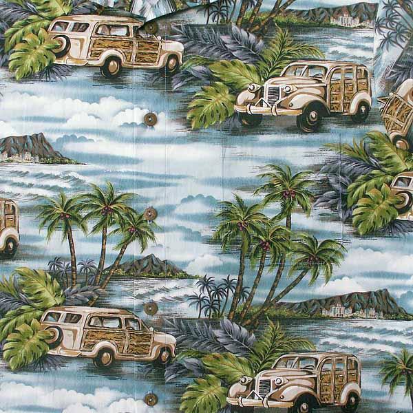 Woodies Aloha Shirt - Size M