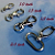 100 Nickel Plated Lobster Swivel Clasps - 1 INCH