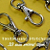 15 Nickel Plated Lobster Swivel Clasps - 1.3 INCH