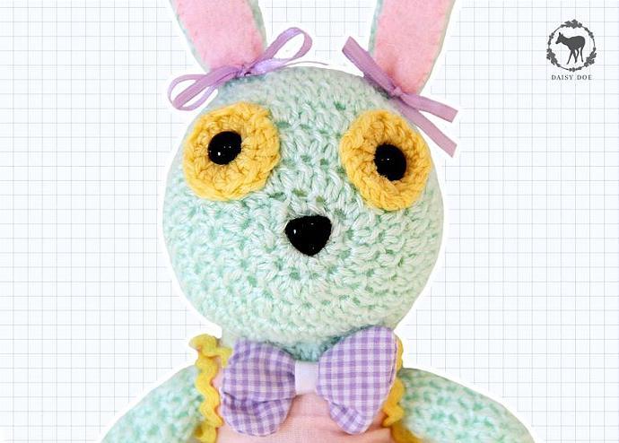 Deluxe Bunny Rabbit (Crochet Soft Toy)