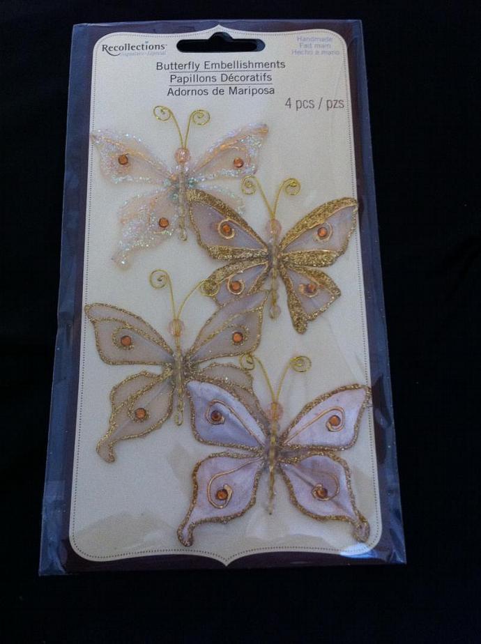 Cream Butterflies