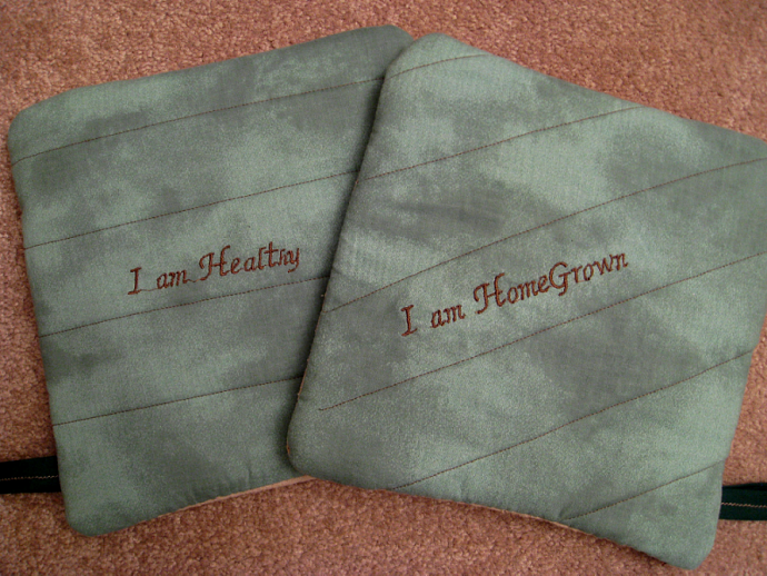 HomeGrown Healthy Oven Hot Pads