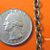 5 feet of Antique Brozne Finish Cross Cable Chain