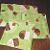 4 Green Cupcake Coasters