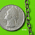 5 feet of Antique Brozne Texture Oval Cable Chain