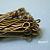 300 pcs of 1-1/4 Inch Antique Brass Finish Eyepin