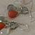 MOONSTONE DROP Bali Silver Earrings