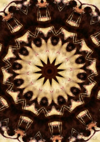 iPhone Wallpapers Mandala Modern Art Digital Download