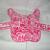 Pink Floral Dog Vest Reversible Fleece