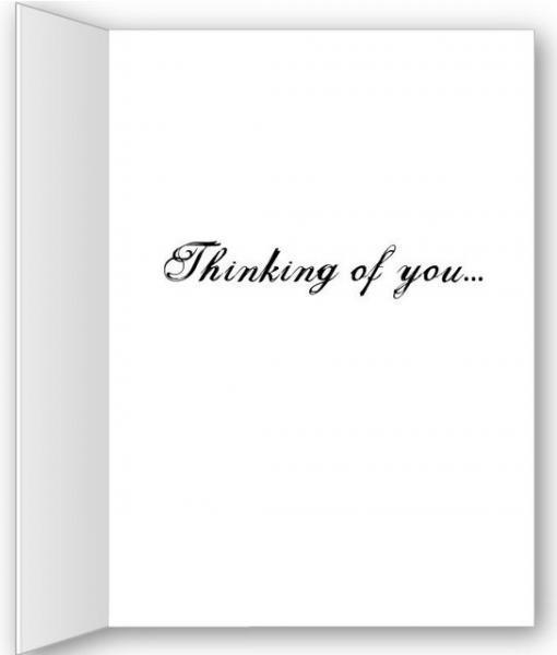 Digital Art Sympathy Card - non denominational.