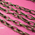 5 feet of Antique Brozne Texture Oval Rollo Chain