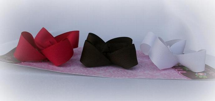 MEDIUM Boutique bows SET OF 3