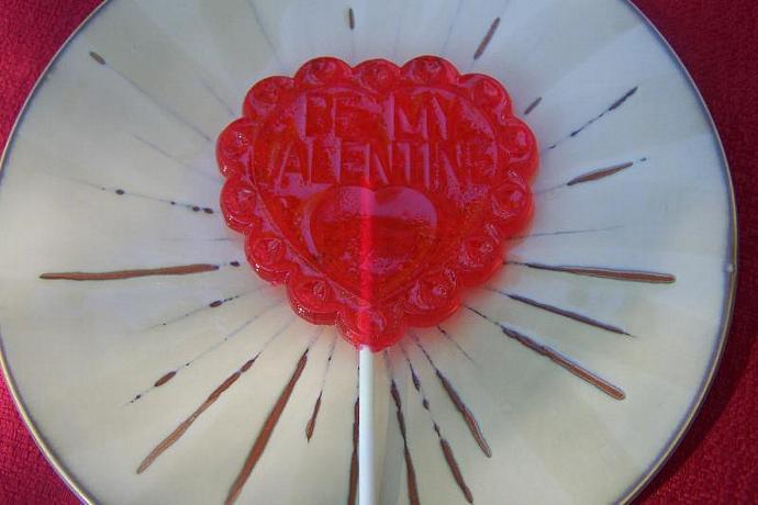 3 BIG Love Valentine's Candy Lollipop Sucker