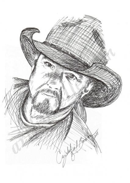 Trace Adkins, Fan Art Card