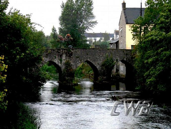 Trim Village Ireland print