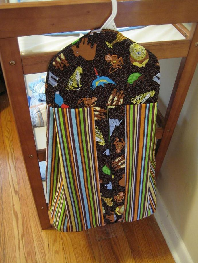 Safari Diaper Stacker - Extra Wide