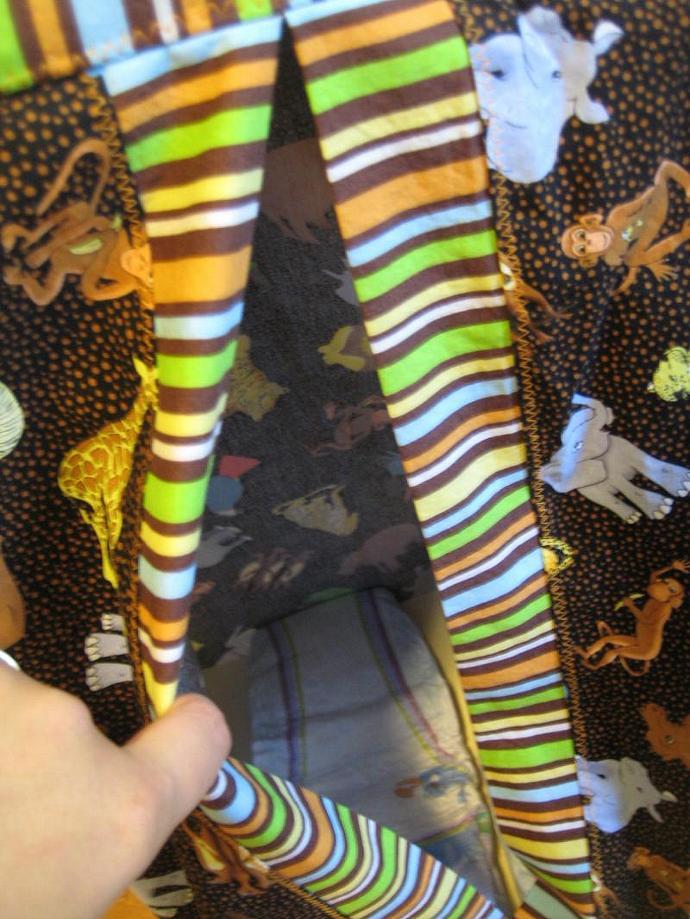 Safari Stripes Diaper Stacker