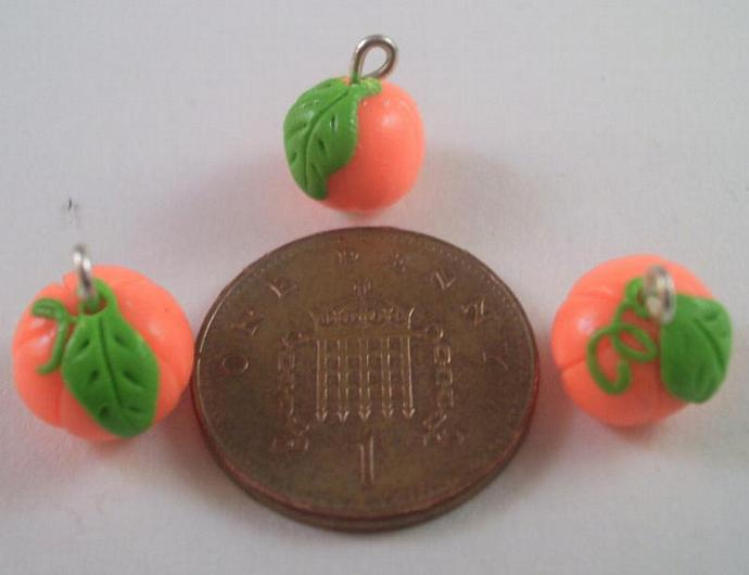 Pumpkin Patch Stitch Markers - Set of 6