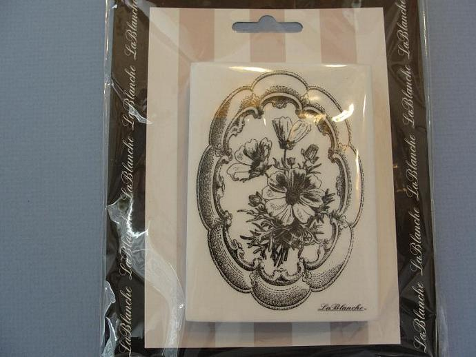 Framed Blossoms Stamp by LaBlanche 2011