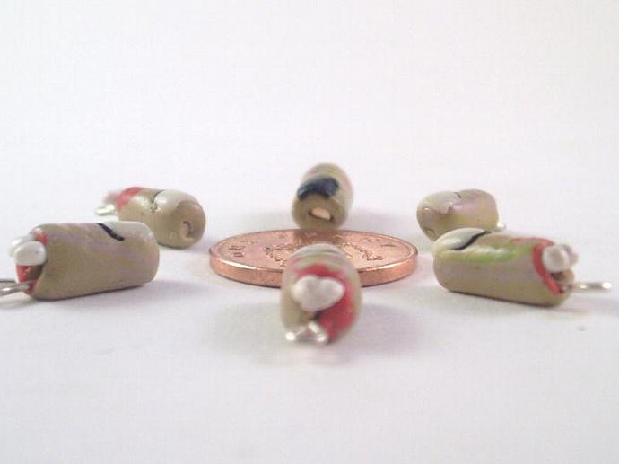 Zombie Finger Stitch Markers - Set of 6