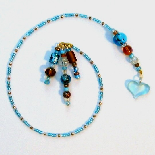 Bookmark Beaded CUSTOM ORDER -- YOU DECIDE COLORS