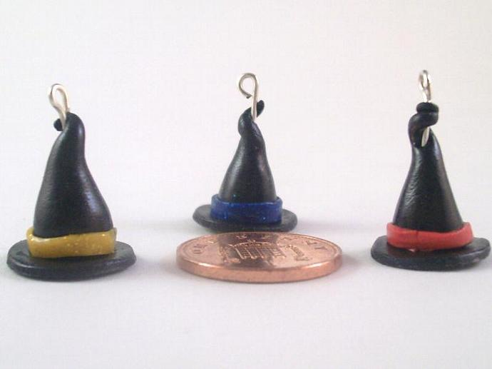 Witches Hats Stitch Markers - set of 6