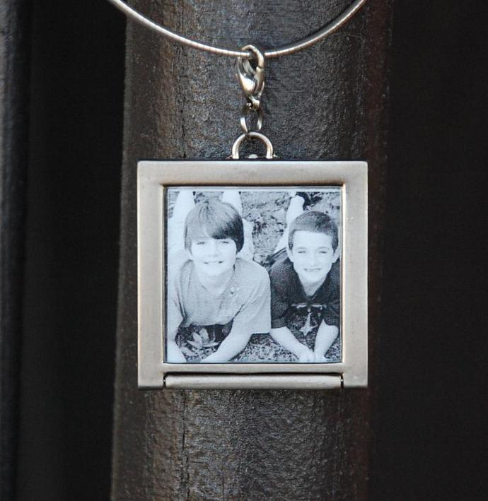 *Custom Listing* - Photo Charm Insert