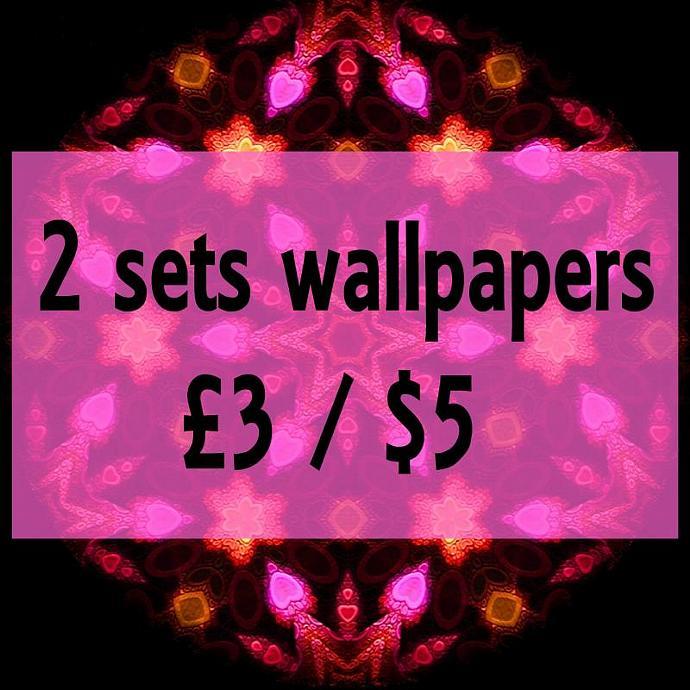 2 sets of Wallpaper downloads