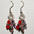 Multicolour dangling earrings