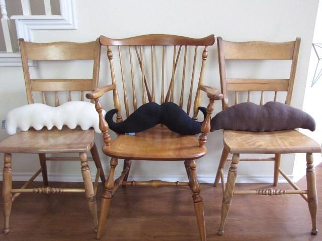 Moustache Pillows - Pick 2 and Save