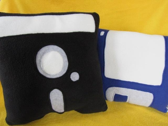 Floppy Disk Pillow Set