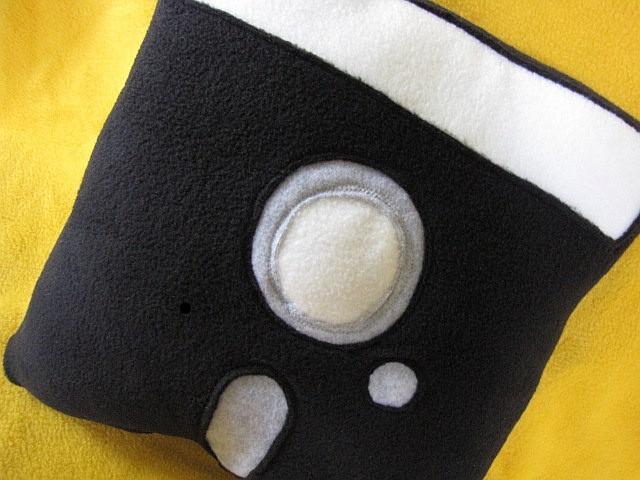 Floppy Disk Pillow - 5-1/4 Inch